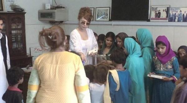 Ayyan Ali visited Edhi foundation Islamabad 4