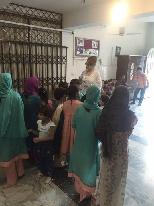 Ayyan Ali visited Edhi foundation Islamabad 6