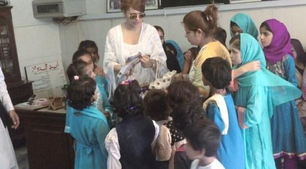 Ayyan Ali visited Edhi foundation Islamabad 7