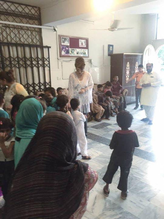 Ayyan Ali visited Edhi foundation Islamabad 8