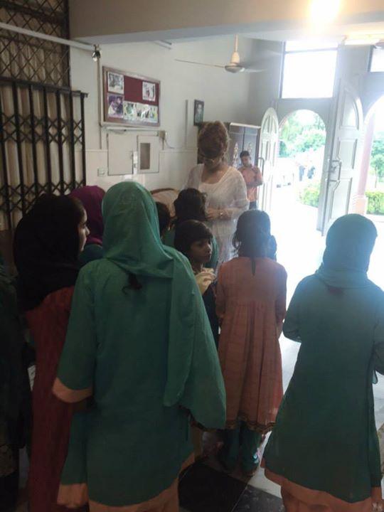 Ayyan Ali visited Edhi foundation Islamabad 9