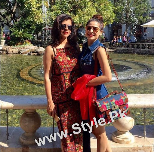Besties Maria Wasti and Ayesha Omar Chilling in LA (4)