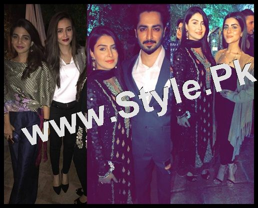 Ayeza Khan's first public appearance after her baby's birth