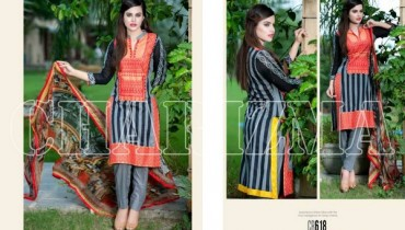 Charizma New Embroidered Lawn Dresses 2015 For Summer 4
