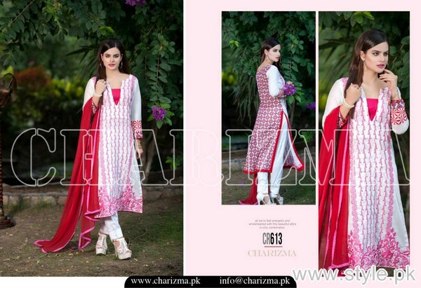 Charizma New Embroidered Lawn Dresses 2015 For Summer 5