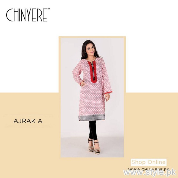 Chinyere Casual Wear Kurtis 2015 For Summer 5