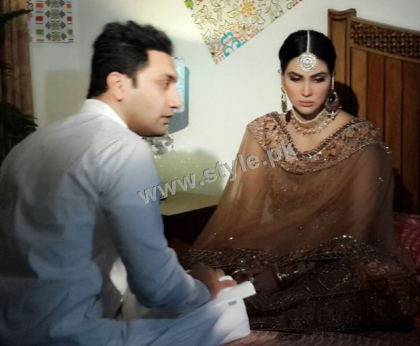 See Fiza Ali on shooting of her upcoming drama