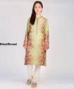 Gul Ahmed Digital Kurti Designs 2015 For Girls 3