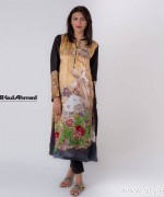 Gul Ahmed Digital Kurti Designs 2015 For Girls 7