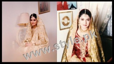 Late Nazia Hassan's Wedding Pictures  (11)