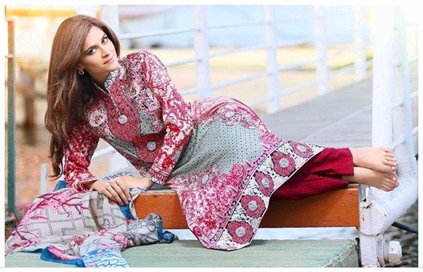 Latest Photoshoot Of Arij Fatyma For Lawn Brand006