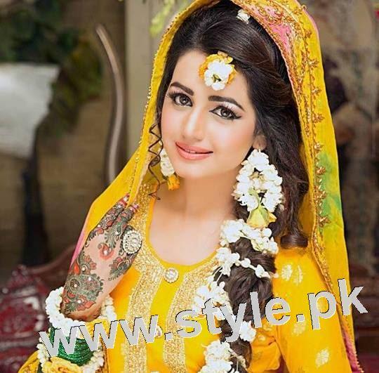 Latest looks of Anum Fayyaz for Bushra's Salon 5