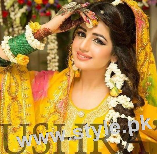 Latest looks of Anum Fayyaz for Bushra's Salon 6