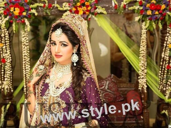 Latest looks of Anum Fayyaz for Bushra's Salon 7