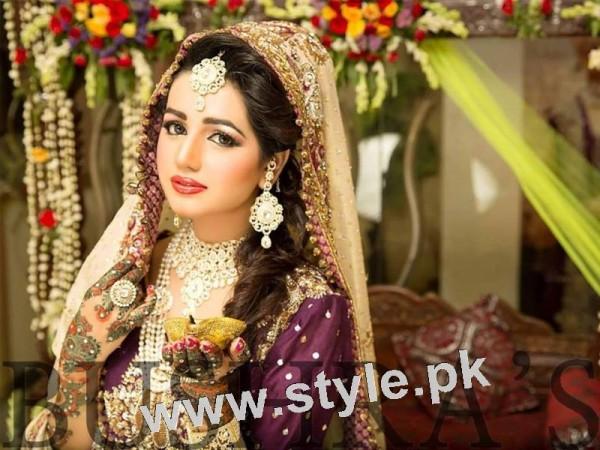 Latest looks of Anum Fayyaz for Bushra's Salon 8