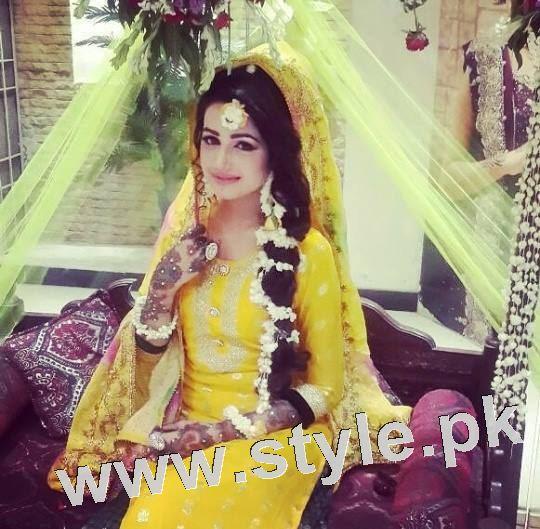 Latest looks of Anum Fayyaz for Bushra's Salon