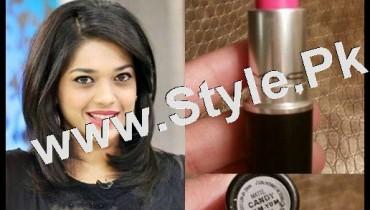 See Lipstick Details of Sanam Jung