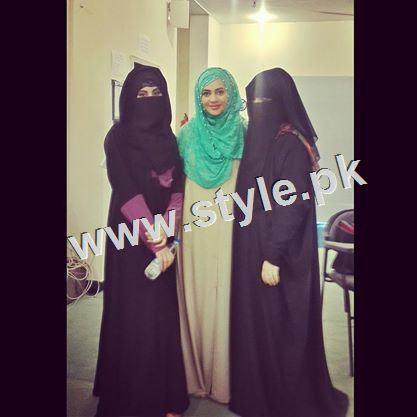 Pakistani Celebrities who wear Hijab 4