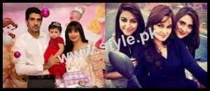 See Pakistani Celebrities with their kids