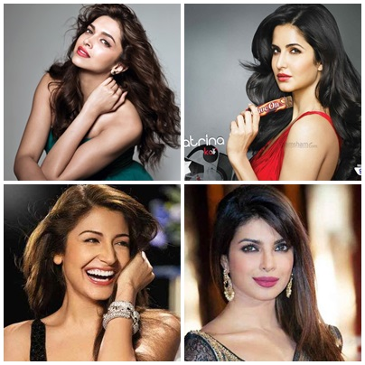 Ranking Of Bollywood Actresses In 2015