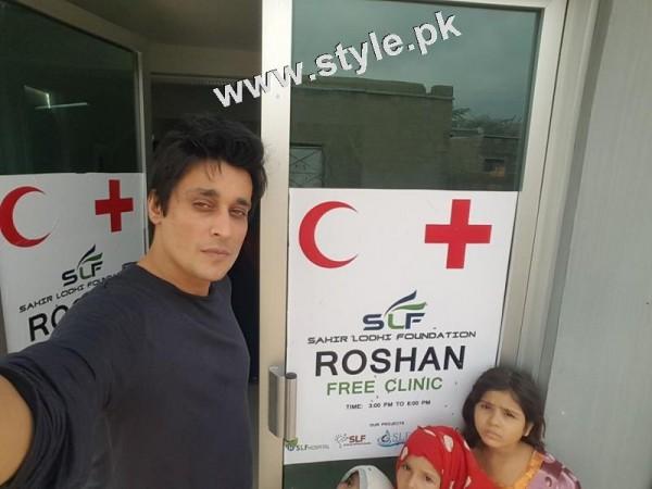 Sahir Lodhi took selfies in hospital! Repeated Komal Rizvi's act 2