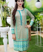 Trends Of Knee-Length Shirts 2015 In Pakistan 6