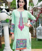 Trends Of Knee-Length Shirts 2015 In Pakistan 7
