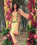 Trends Of Knee-Length Shirts 2015 In Pakistan 8