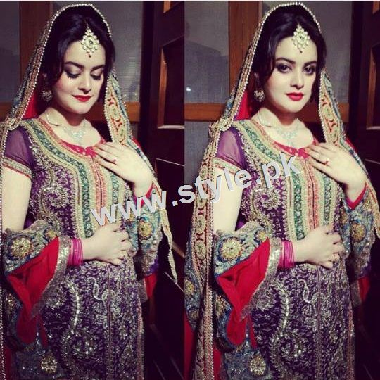 See Unmarried Celebrities stunned in Bridal looks