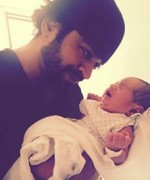naveed raza blessed with a baby