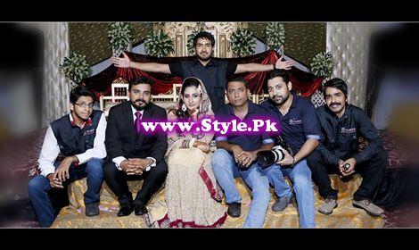 Actress Pari Hashmi on her Walima (2)