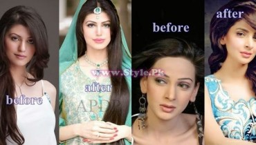 Before And After Pictures Of Pakistani Celebrities Display Picture