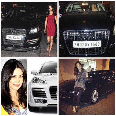 Bollywood Actresses And Their Car Obsession