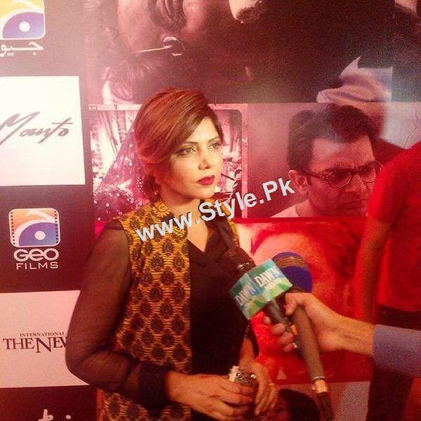 Celebrities at Lahore Premiere of Manto (3)