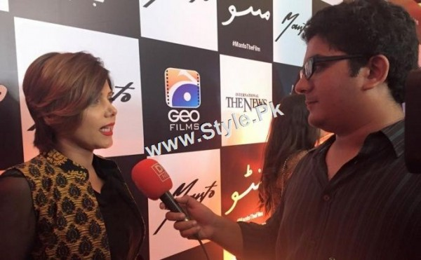 Celebrities at Lahore Premiere of Manto (5)
