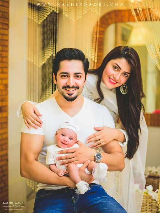 See Family Pictures od Ayeza Khan and Danish Taimoor
