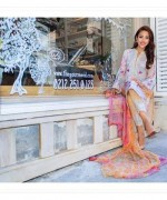 Farah Talib Aziz Midsummer Collection 2015 By Lakhany Silk Mills002