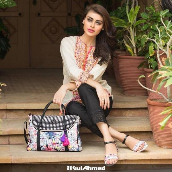 Gul Ahmed Handbags And Shoes Collection 2015 For Women0011