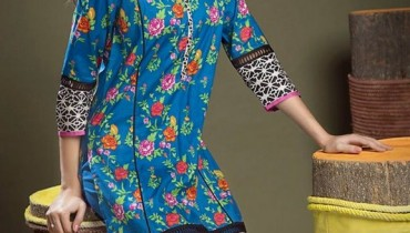 Khaadi Cambric Dresses 2015 For Autumn 4