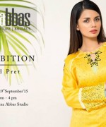 Sana Abbas Party Wear Collection 2015 For Women