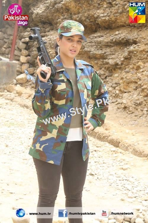 Sanam Jung's look for Defence Day 2015 (15)