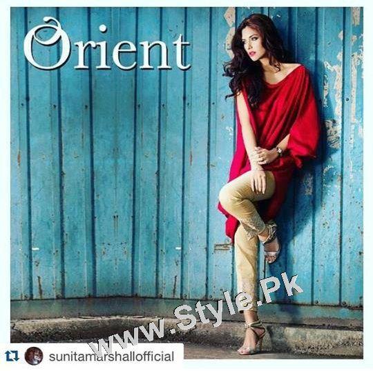 Sunita Marshal's photoshoot for Orient Textile Mills (5)