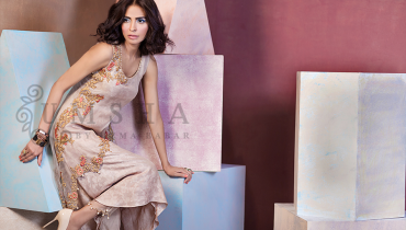 Umsha By Uzma Babar Pret Wear Collection 2015 For Women001