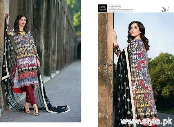 Zahra Ahmad Heritage Lawn Collection 2015 For Eid-ul-Azha 11