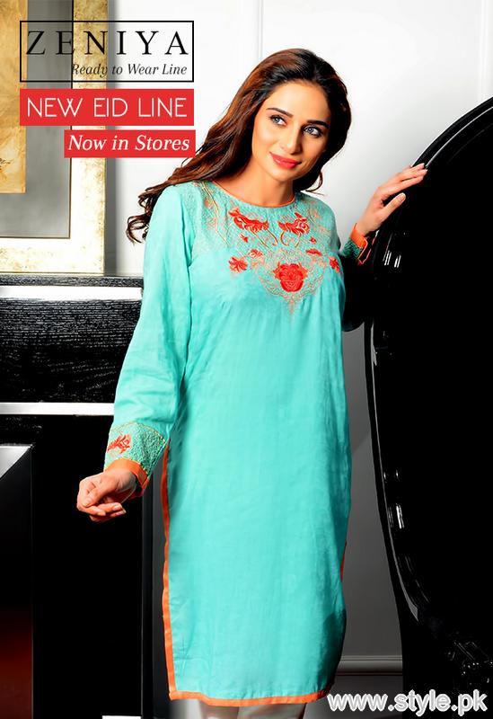 Zeniya Eid-ul-Azha Collection 2015 For Women 5