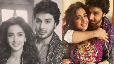 See Ahsan Khan and Saba Qamar are all set to romance in Bollywood Movie