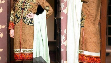 Amna Ismail Winter Dresses 2015 For Women 3