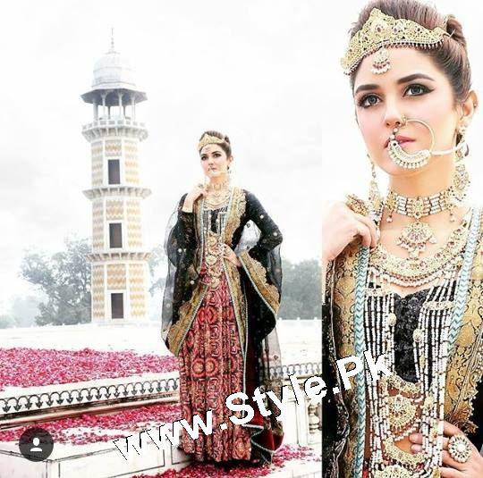 See Elegant Photoshoot of Maya Ali for Samreen Vance House of Jewels
