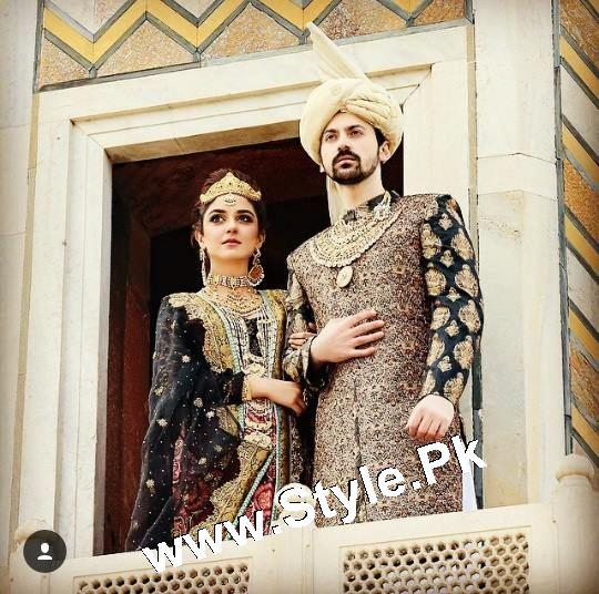 Elegant Photoshoot of Maya Ali for Samreen Vance House of Jewels (2)