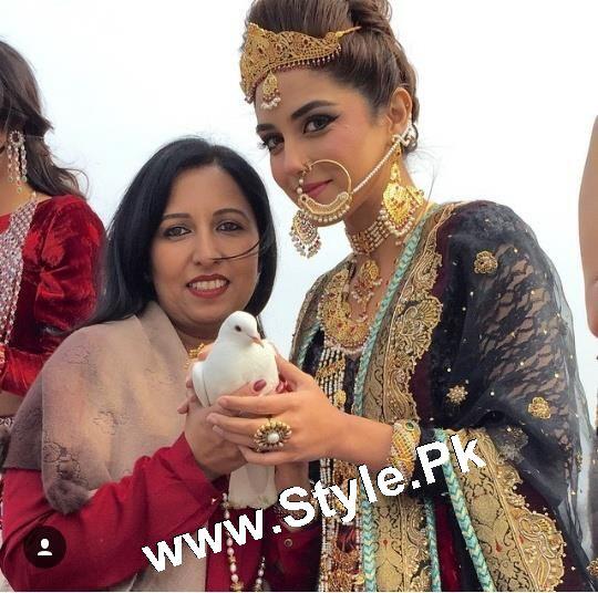 Elegant Photoshoot of Maya Ali for Samreen Vance House of Jewels (3)